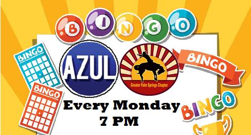 Bingo Every Monday Night 7PM