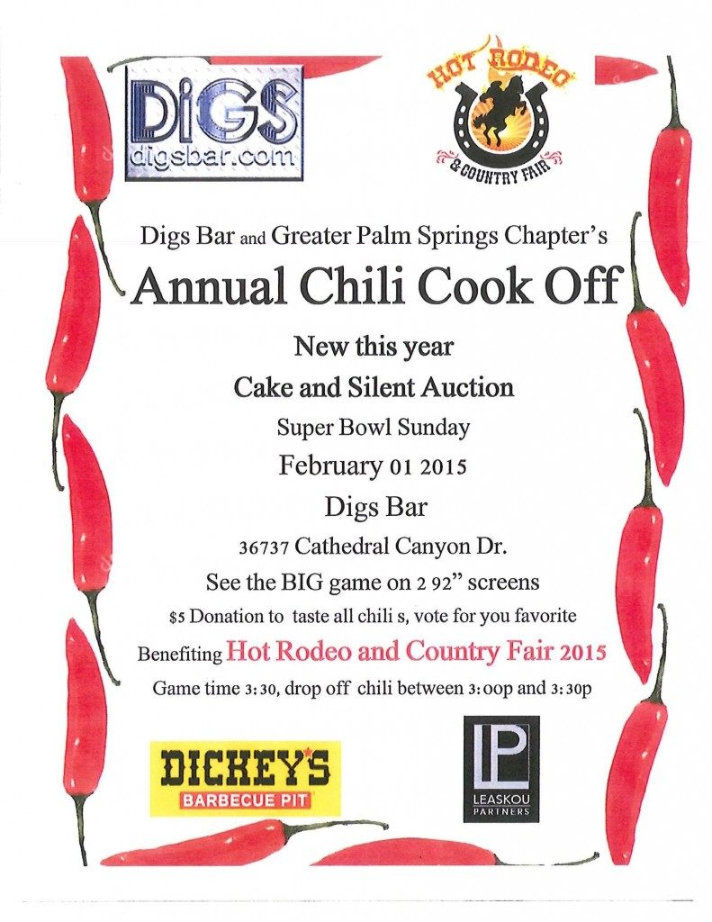 Chili Cook Off Fundraiser