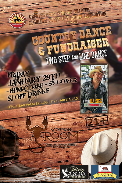 January 2016 Chill Bar Country Dance w/GSGRA State Convention