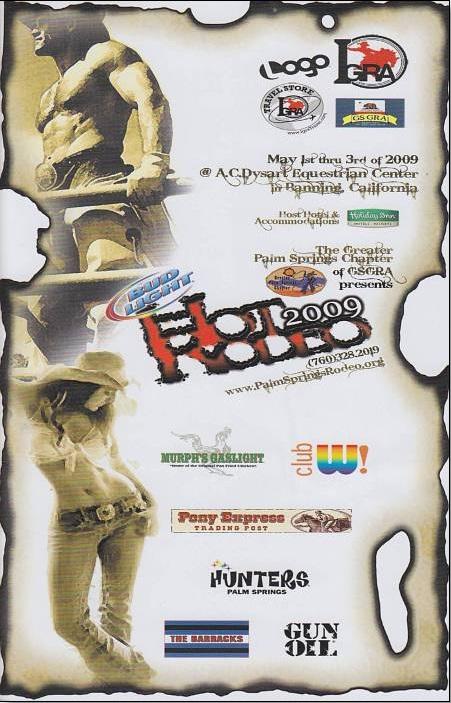 2009 Hot Rodeo May 1-3, 2009