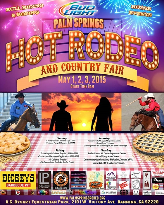 2015 Hot Rodeo & Country Fair May 1-3, 2015