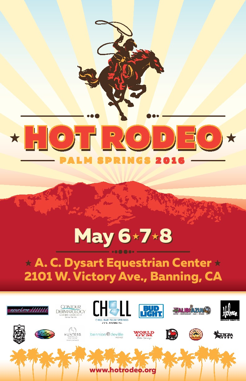 2016 Hot Rodeo May 6-8, 2016